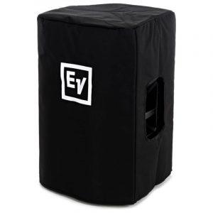 Black Speaker Cover with Padding and EV Logo for EKX12 Speaker