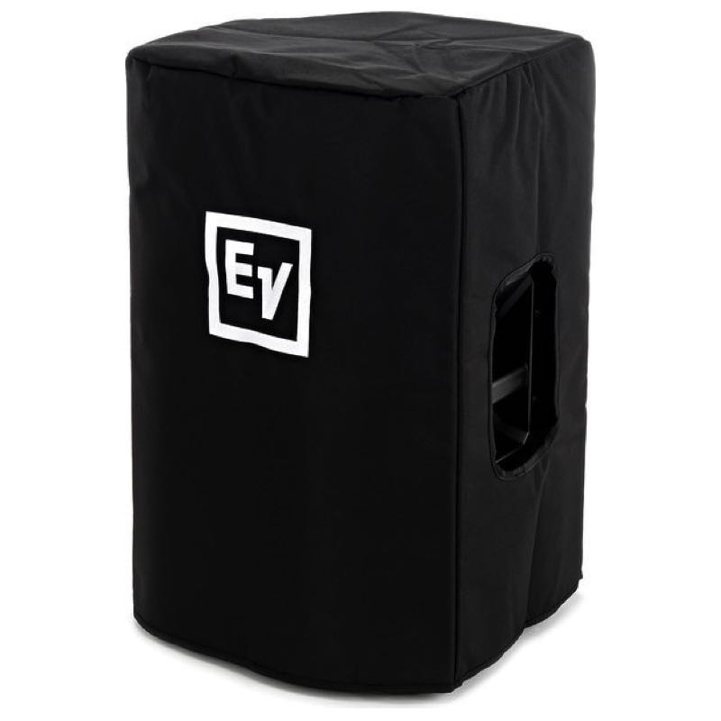Black Speaker Cover with Padding and EV Logo for EKX12 Speaker