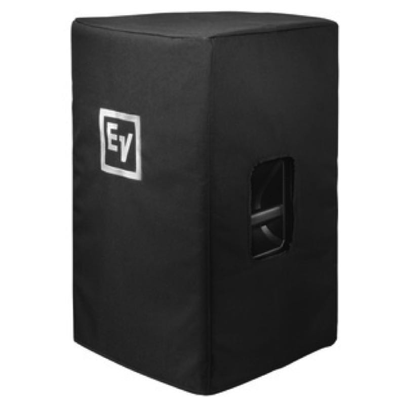 Black Speaker Cover with Padding and Logo for ETX12p Speaker