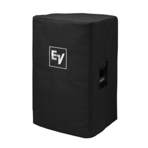 Black Speaker Cover with Padding and EV Logo for ZLX12 Speaker