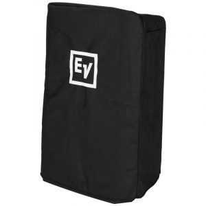 Black Speaker Cover with Padding and EV Logo for ZLX15 Speaker
