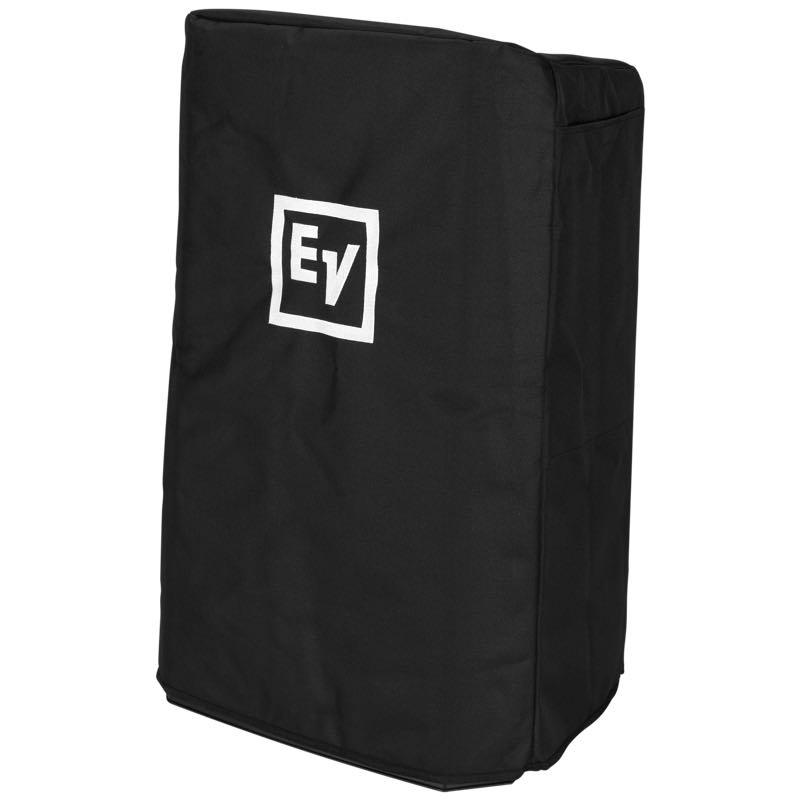 Black Speaker Cover with Padding and EV Logo for ZLX15 Speaker