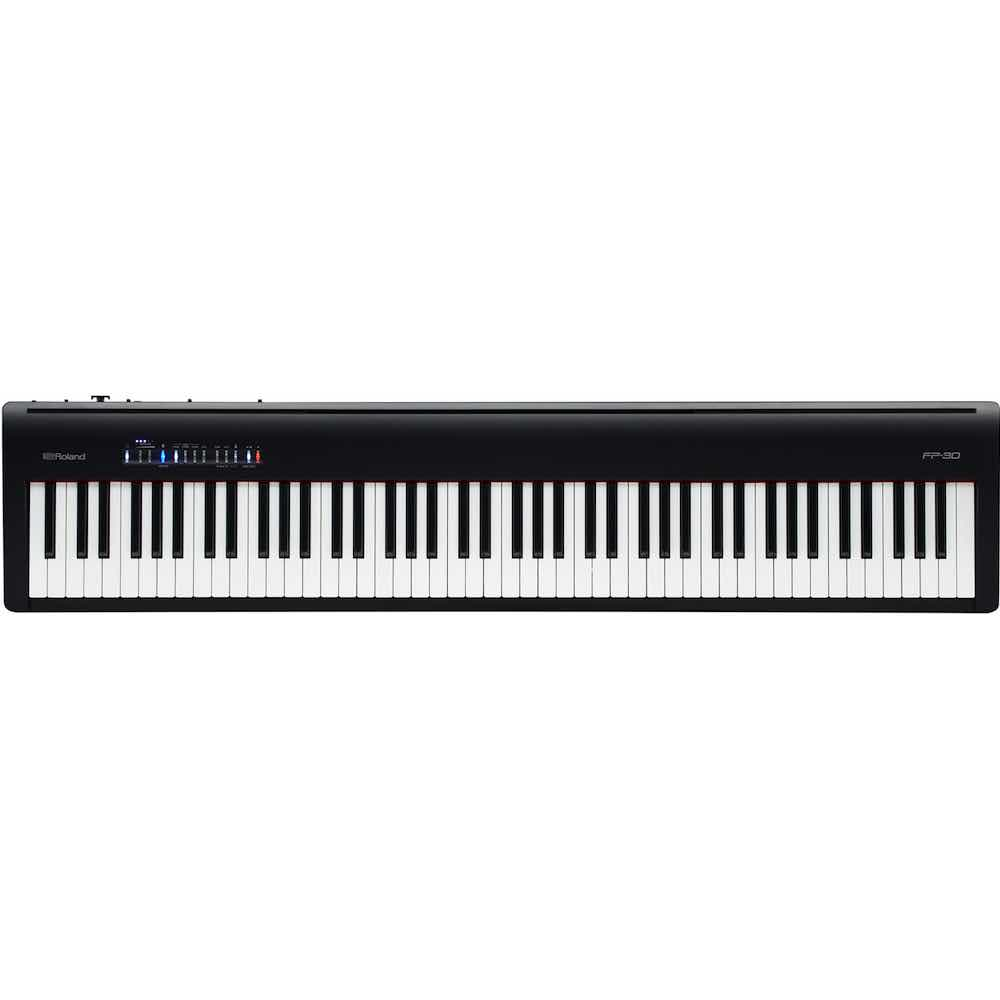 roland fp 30 digital piano bashs music. Black Bedroom Furniture Sets. Home Design Ideas