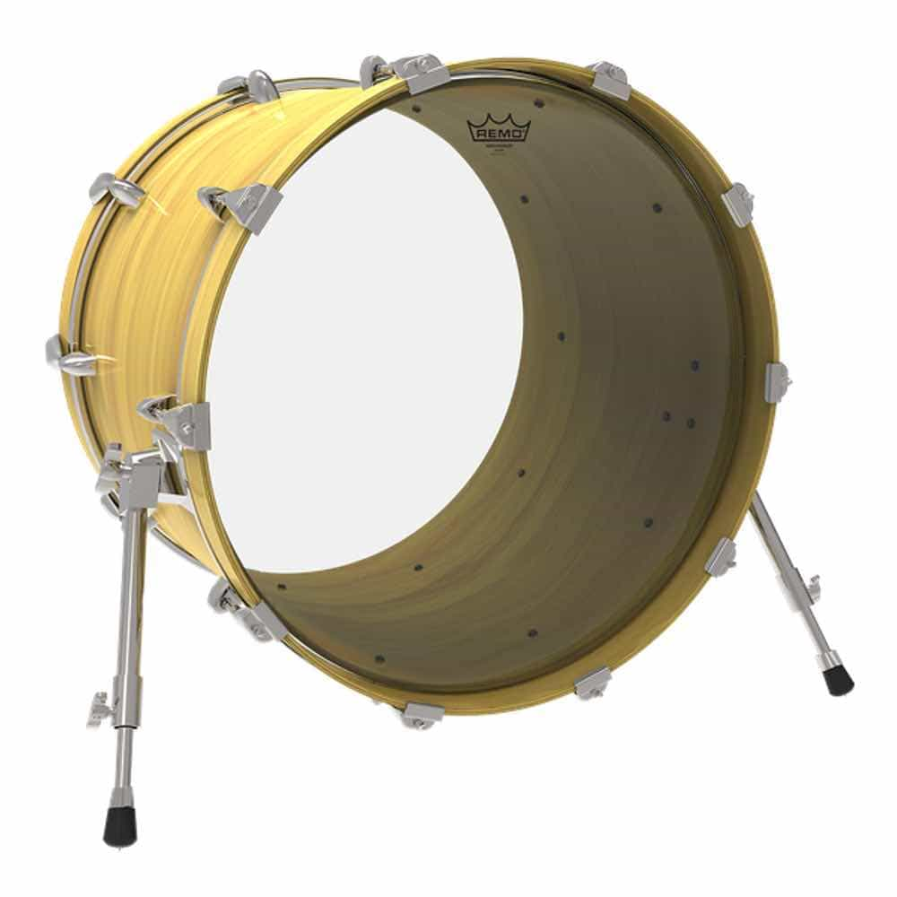 Remo 20/″ Ambassador Clear Bass Drum Head