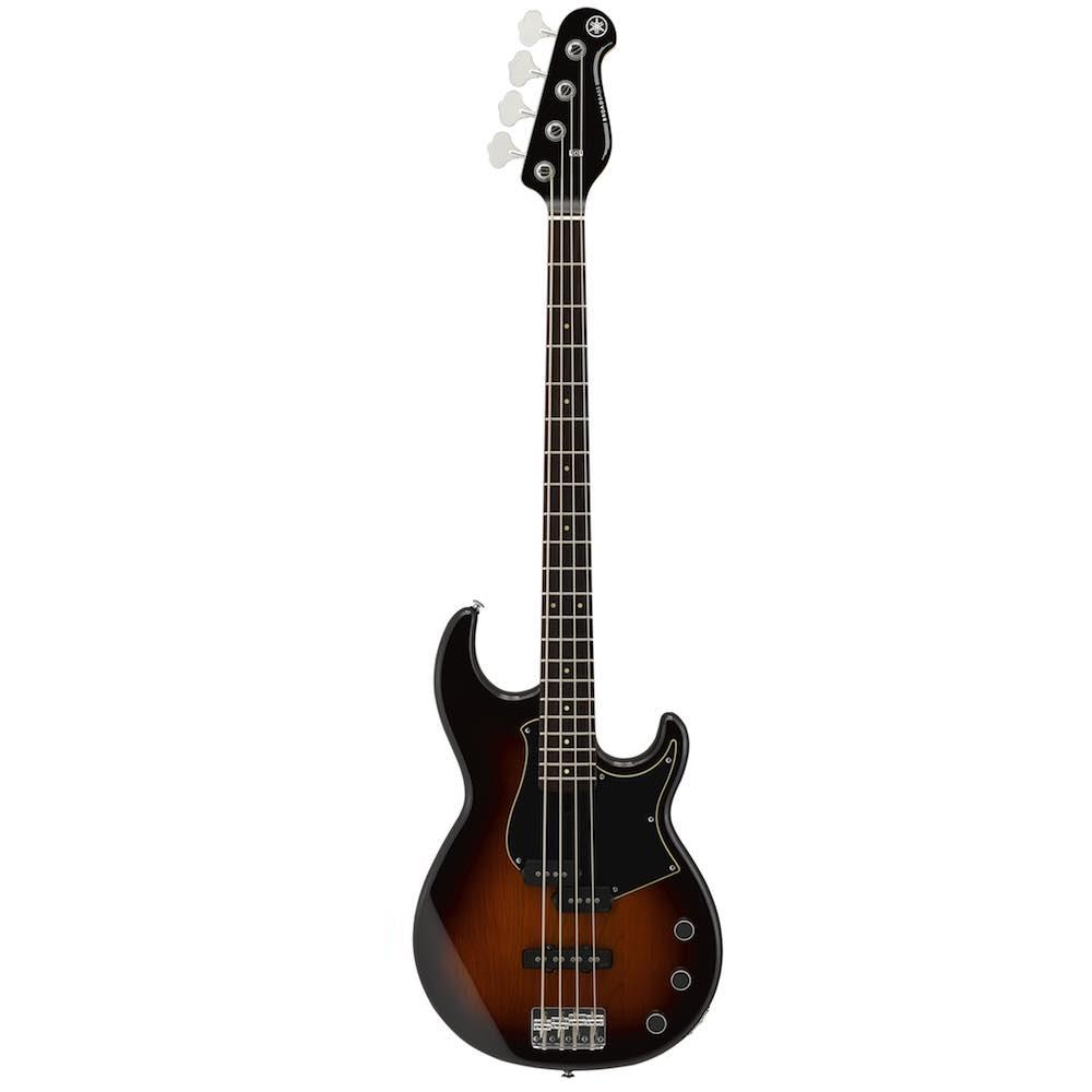 Yamaha bb434 4 string electric bass guitar tobacco brown for Yamaha 6 string bass