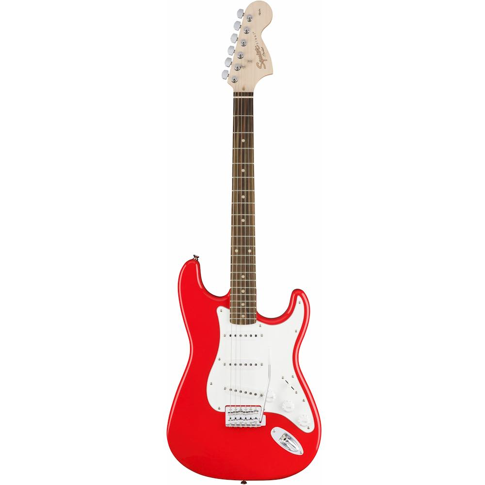 fender squier affinity stratocaster rw race red bashs music. Black Bedroom Furniture Sets. Home Design Ideas