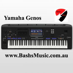Yamaha Genos Arranger Keyboard New Tyros