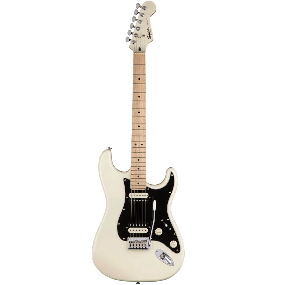 squier contemporary stratocaster hh mn pearl white bashs music. Black Bedroom Furniture Sets. Home Design Ideas