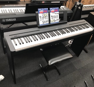yamaha p45  Yamaha P45 Digital Piano with L85 Stand | Bashs Music